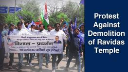 Thousands of Dalits Protest Against