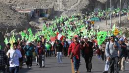 Tía María mine protest in Peru