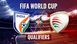 India vs Oman FIFA World Cup qualifier football match highlights