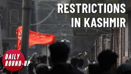 Restriction in Kashmir