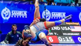 Vinesh Phogat wins bronze at UWW World Wrestling Championships