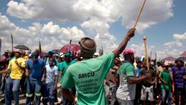 The AMCU has been fighting for the rights of South African mine workers, demanding increments in salaries and health benefits for long.