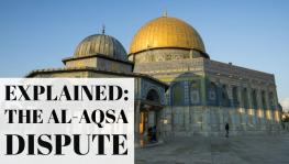 Why are Jewsish settlers trying to occupy the Al-Aqsa mosque?