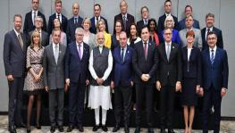 EU delegation to Kashmir