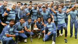 Karnataka Cricket Team, the 2019 Vijay Hazare Trophy champions