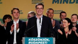 Gergely Karacsony won with the support of various opposition parties which joined together to defeat Fidesz.