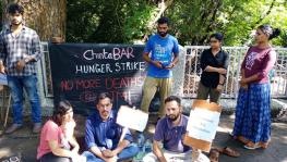 IIT-M Students on Hunger Strike