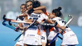 India vs USA womens hockey Tokyo Olympics qualifier