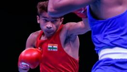 Indian boxer Shiva Thapa at Olympic Test Event for Boxing in Tokyo