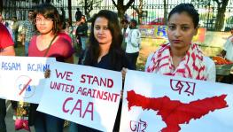 Students protests against CAA