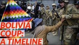 One month of fascist coup in Bolivia