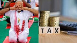 Modi Government Budget 2020 falling tax revenue