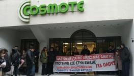 Greece Telecom Workers Strike