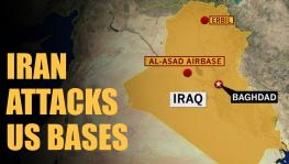 Iran attacks US bases