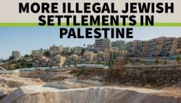 Israeli illegal settlements on Palestinian land