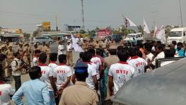 DYFI protest against caste wall in Tamil Nadu