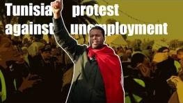 Tunisians Protest Against Unemployment