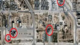 Satellite images show extensive damage to Ain Al Asad air base in Iraq which was hit by Iranian missiles on Jan 7, 2020