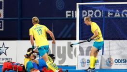 India vs Australia FIH Hockey Pro League match in Bhubaneswar
