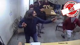 Jamia CCTV footage fact check