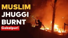 Jhuggi of Muslims Burnt Down