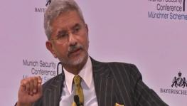 India's External Affairs Minister S. Jaishankar addressing the annual Munich Security Conference on 'constructive vocal nationalism', Munich, Germany, February 15, 2020