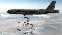 The 7,423 bombs dropped in Afghanistan last year were the highest in a decade.