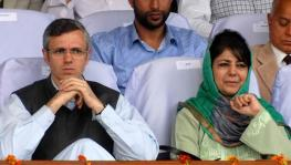 Mehbooba Mufti and Omar Abdullah