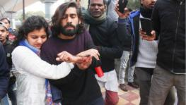 Jamia Firing: A Water Bottle Used