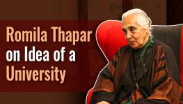 Romila Thapar  on University