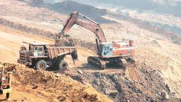 NCL Mining Corporation which is owned by Adani Enterprises in Chhattisgarh's Dantewada region