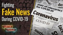 Fake news during COVID