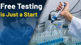 Free test of COVID in India