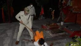 Police Action on Temple Priest Flouting