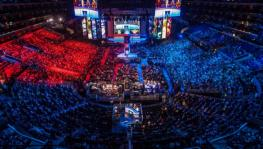 eSports LAN events and crowd atmosphere