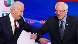 Joe Biden and Bernie Sanders.