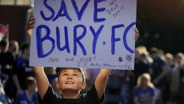 Bury FC and English football smaller clubs financial crisis