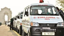 Delhi govt outsourced ambulance services amidst COVID-19 crisis.