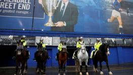 Merseyside police on staging Liverpool vs Everton Premier League derby at Anfield or Goodison Park.