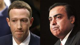 Mukesh Ambani and Marck Zuckerberg