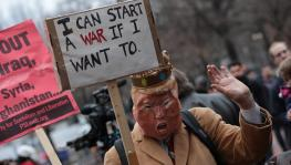 Donald Trum veto Iran Anti-war Bill