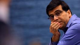 Chess grandmaster Viswanathan Anand returns to India from Germany