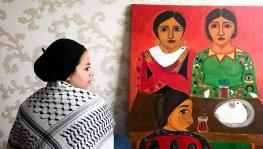 """I started painting to escape the fear of dying"": Malak Mattar"