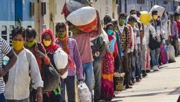 Migrant workers in India who have lost their jobs due to the lockdown return to their home States in the country.