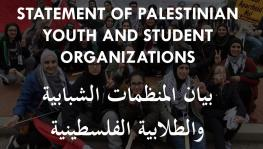 Palestinian Youth for a New Solidarity Pact Against Israeli Occupation