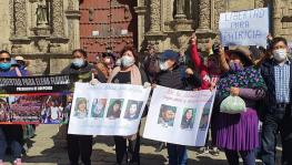 Bolivians Demand Freedom for Female Political Prisoners and Immediate General Elections