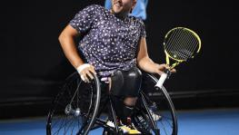 Australian Open champion Dylan Alcott was at the forefront of criticising the USTA for their failure to provide wheelchair athletes an opportunity to play at the tournament, and not addressing the sport at all. (Picture courtesy: Dylan Alcott/Twitter)