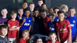 Marcus Rashford contributes to charity too feed poor children