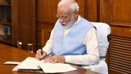 Narendra Modi's letter to people