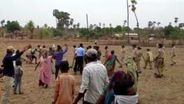 Tribals Protest Against Land Acquisition by SSNNL